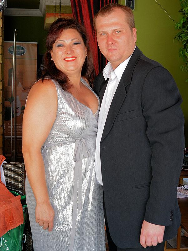 Mirella Kazuś-Barańska i Przemek Iberszer